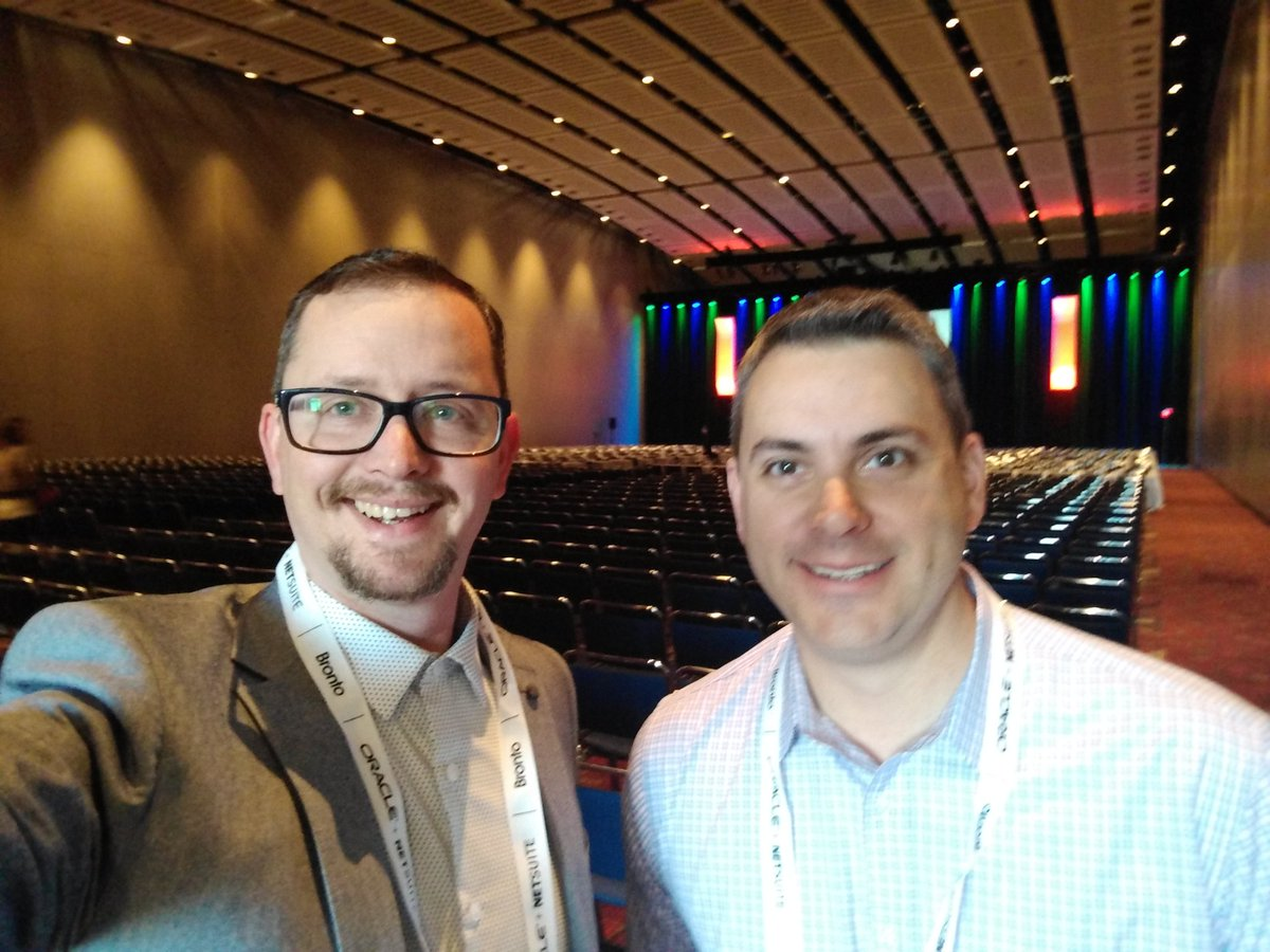 Blake Harrison and Jim Cain attend the Internet Retailer Conference and Exhibition